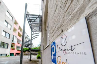 Fotograf Köln - direkt vorm Studio parken