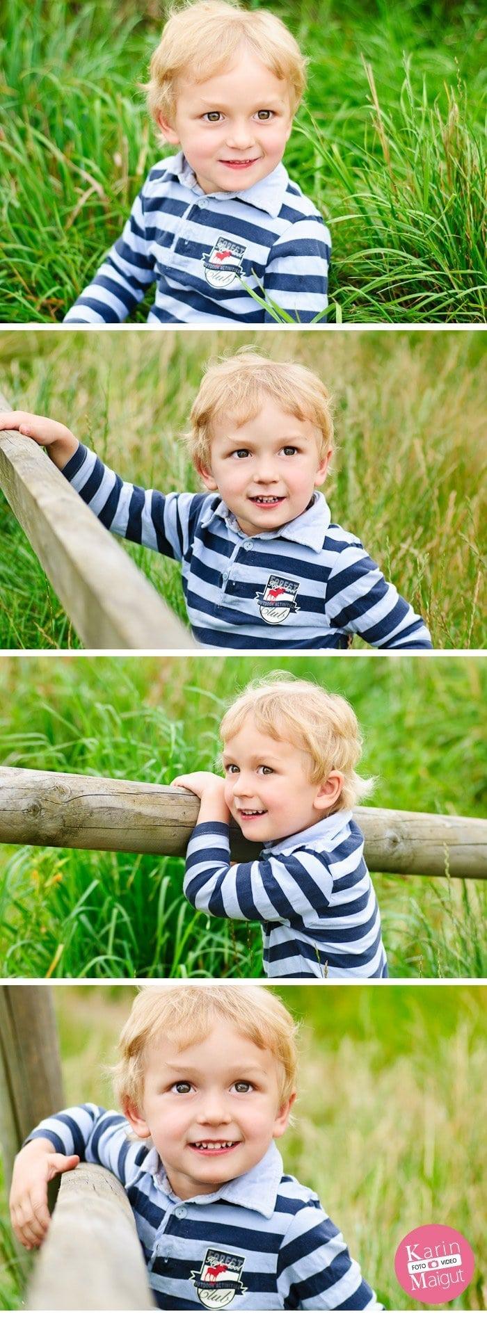 Fotografien vom Kindershooting mit Paulchen