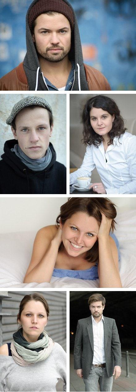 Fotografin für Schauspieler