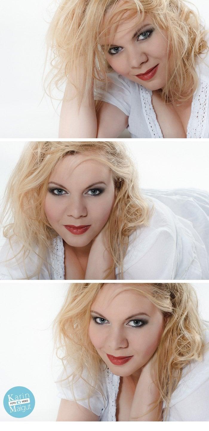 Fotoshooting im Stil von Marilyn Monroe