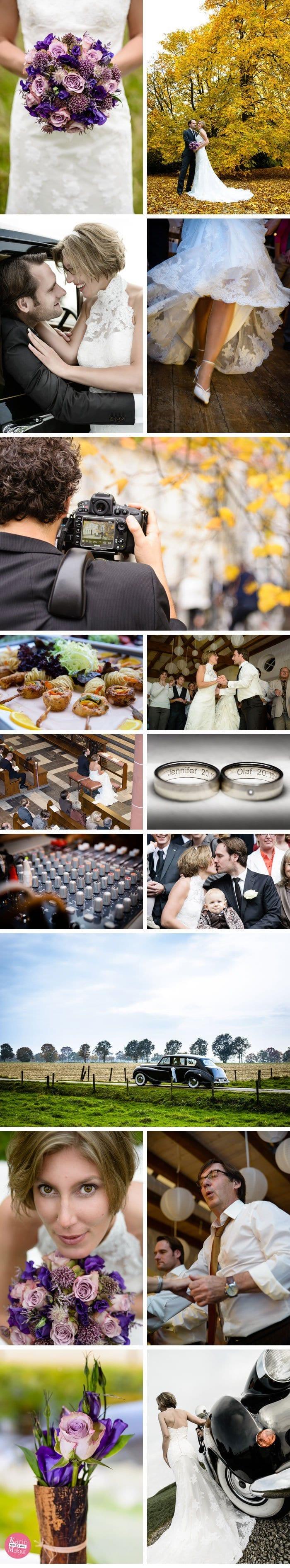 Hochzeitsvideo und Hochzeitsfotografie aus einer Hand